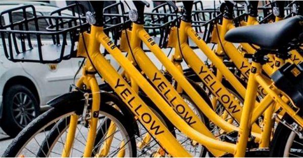 Startup de compartilhamento de bikes recebe investimento de US$ 63 milhões