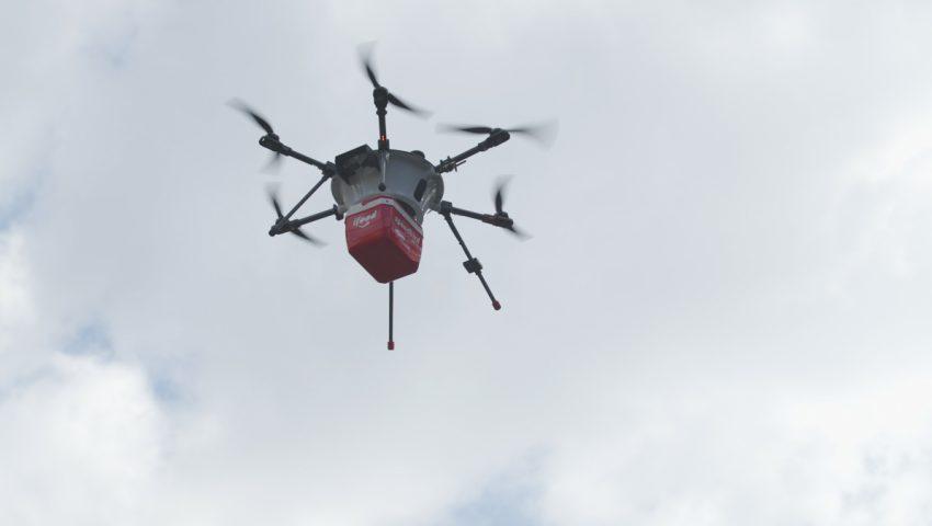 iFood anuncia entrega com drones