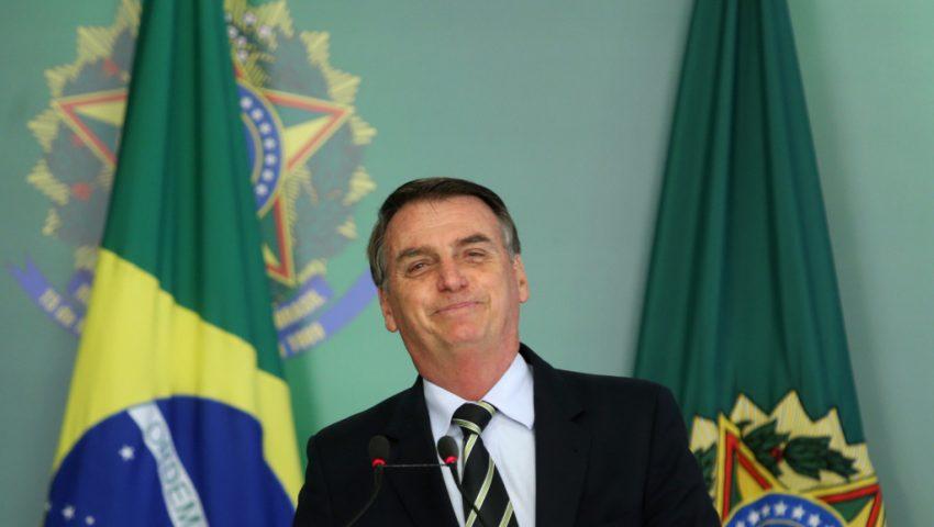 O primeiro dia do governo Bolsonaro