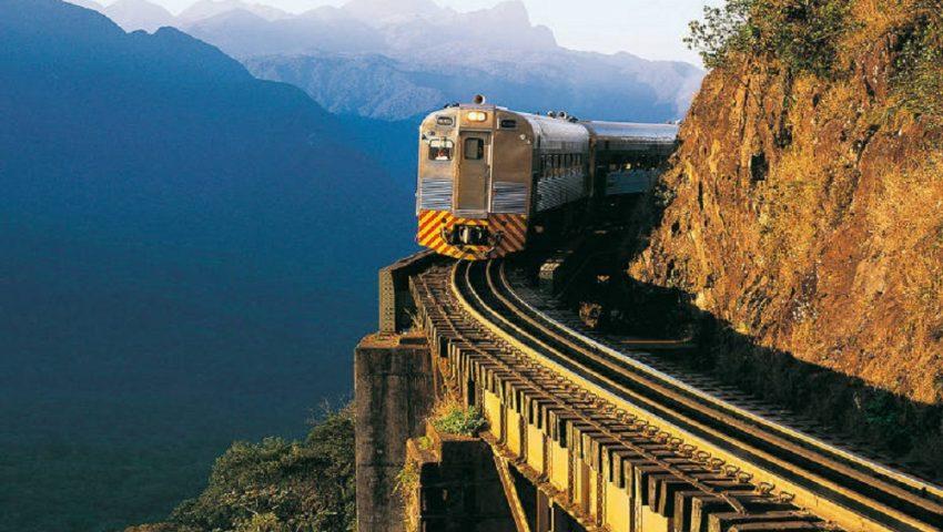 Como é o passeio de trem para Morretes, no Paraná
