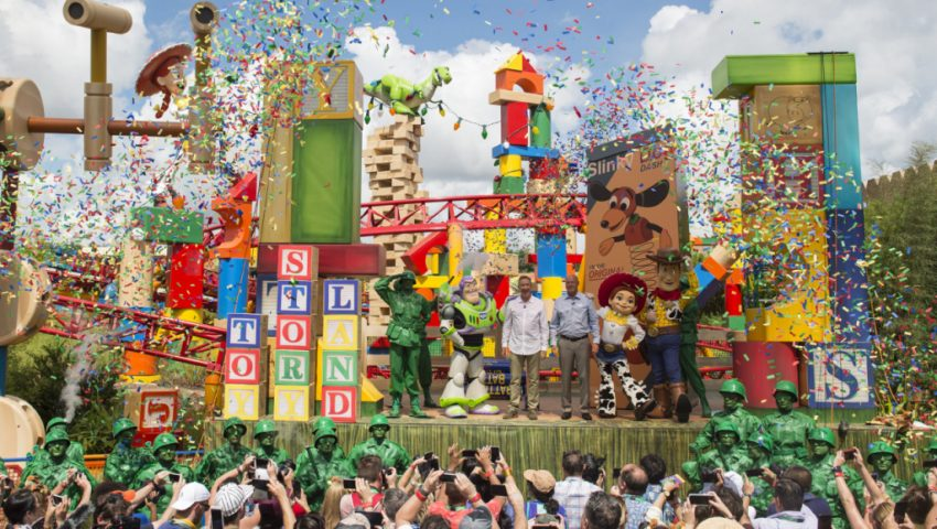 Toy Story Land na Disney