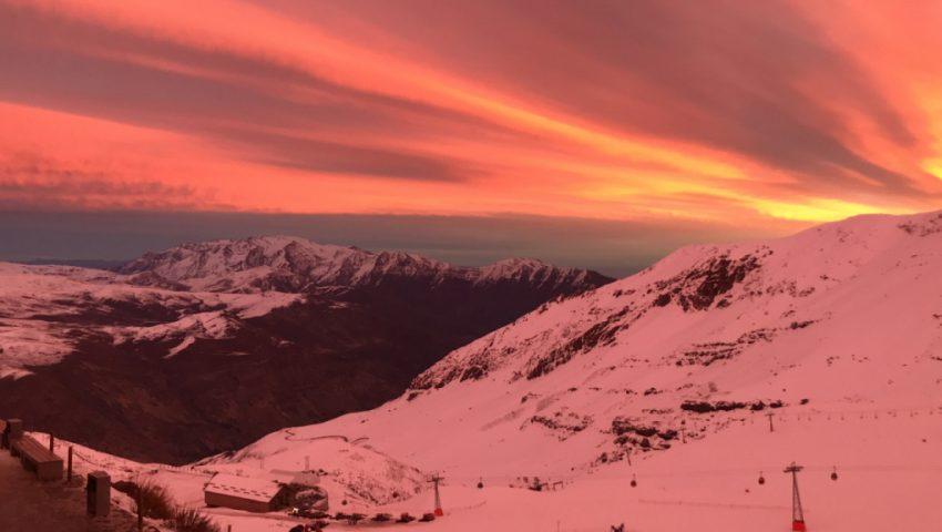 Adrenalina e beleza marcam o Valle Nevado, no Chile