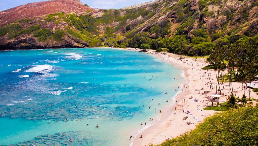 Havaí, é considerado pelos surfistas um verdadeiro paraíso