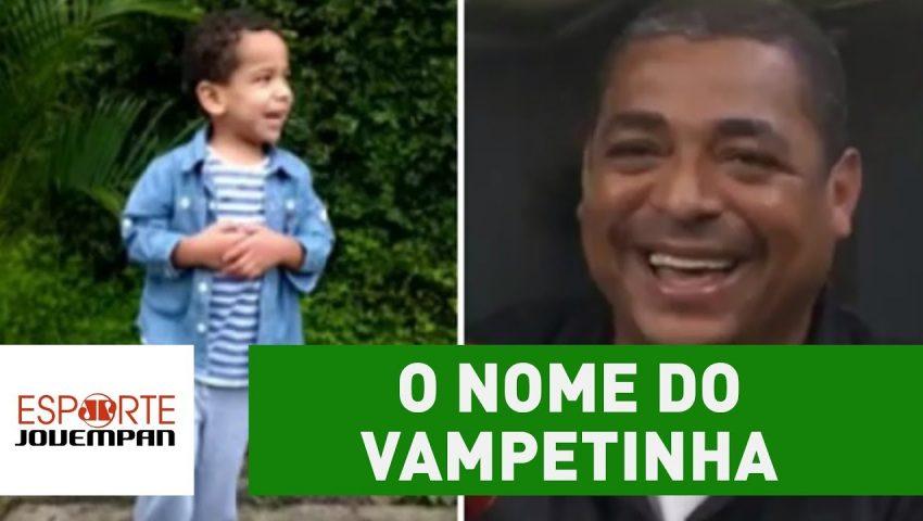 OLHA o nome que Vampeta deu ao filho por amor ao Corinthians!