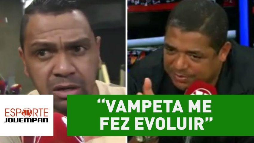 """Vampeta me fez evoluir muito"", revela Leandro 'Gianecchini'"