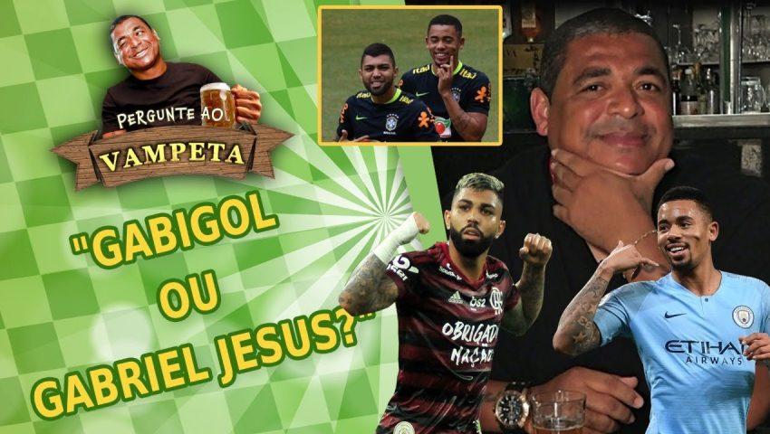 """Pergunte ao Vampeta #23: """"GABIGOL ou GABRIEL JESUS?"""""""