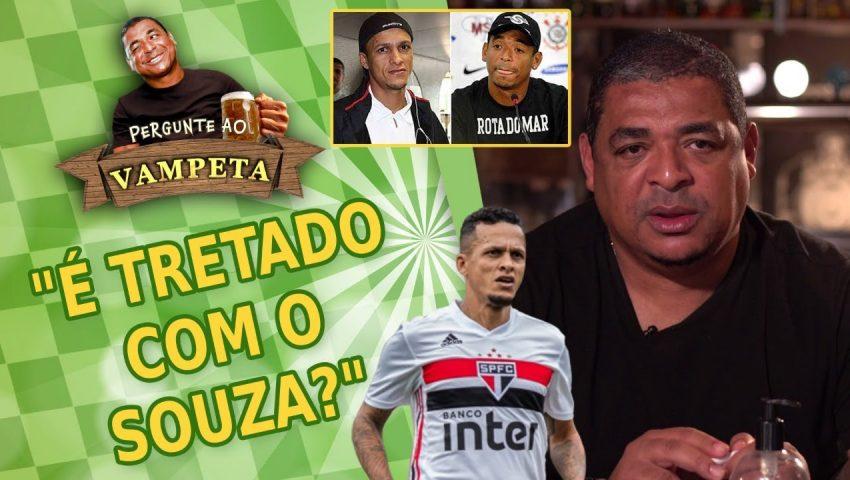 """Pergunte ao Vampeta #36: """"É TRETADO com o SOUZA, ex-São Paulo?"""""""