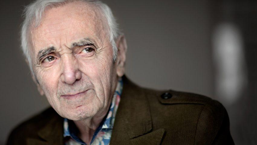 Conhecido pela carreira musical, Charles Aznavour também fez sucesso como ator
