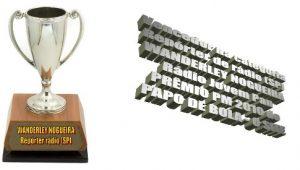 Prêmio Papo de Mídia: Wanderley Nogueira é eleito melhor repórter de rádio