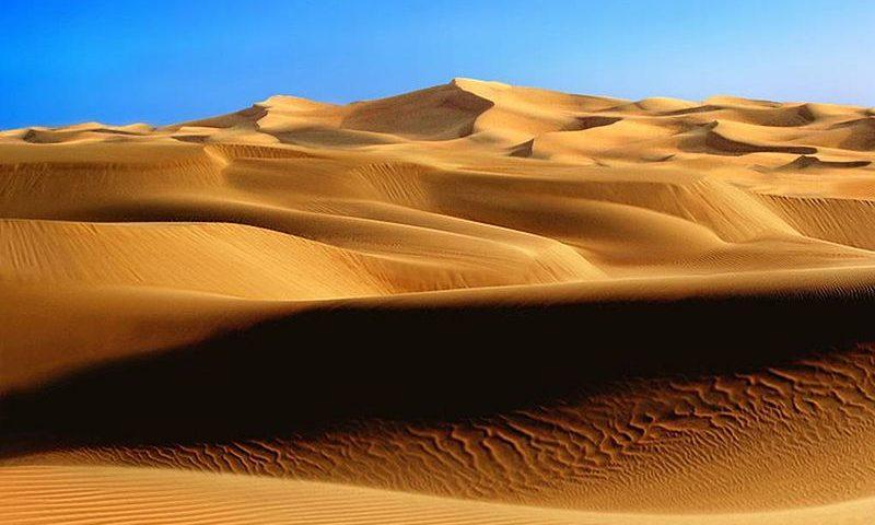 SELEÇÃO: o deserto atrapalhou